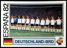 Espana 82 Deutschland-BRD #152 World Cup Story Panini Sticker (C350)