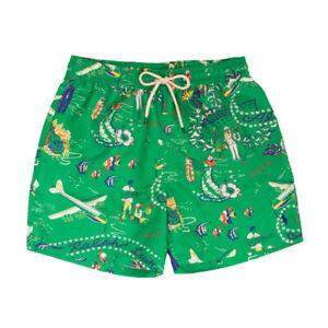Polo Ralph Lauren Traveller Swim Short Green - SALE!