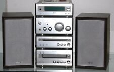 Sony CMT-SP55TC  FULL 4 TIER HI-FI  SYSTEM CD/TUNER/AMP/TAPE *NEW* Belts Fitted