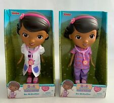 Doc McStuffins Toy Hospital Dolls (2 Varieties - Dr Jacket and Scrubs) Ages 3Y+