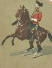 Early 20th Century Gouache - Military Officer