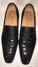 Kiton Shoes Black Perforated Wing Tip Design Size 12
