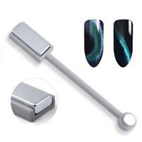 DIY Nail Art Cat Eye Magnetic Stick Effect Strong Magnet UV Gel Slice Board Tool