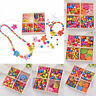 1Box Kids Girl Friendship Beads Jewellery Making Kit Childrens Creative Toys HOT
