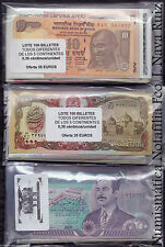 B-D-M Lote de 25 Billetes del Mundo Todos Diferentes SC UNC