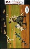 Andy Van Slyke Jsa Coa Autograph Original Photo  Hand Signed Authentic