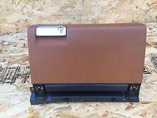 PORSCHE BOXSTER S 986 (02-04) 996 DASH GLOVE BOX COVER STORAGE BROWN OEM
