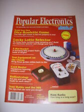 POPULAR ELECTRONICS Magazine, APRIL 1989, BUILD DICE-ROULETTE GAME RADIOSTROLOGY