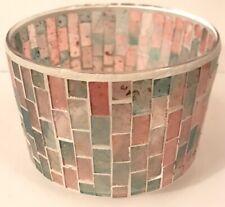 Yankee Candle ROMANCE MOSAIC Barrel Jar Shade For Medium/Large Candles NWT