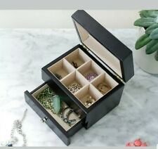hives and honey amy jewelry box black