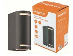Dual Illumination Wall Light, Aluminium, Kingavon BB-HL194 Black