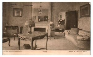 1913 Hotel Knickerbocker Suite, New York City Postcard
