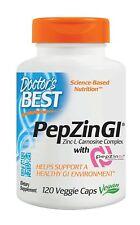 Zinc Carnosine Complex with PepZin GI 120 Veggie Caps 120 Count Free Shipping