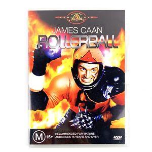 Rollerball James Caan DVD Region 4