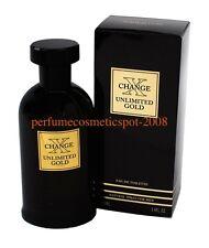 NIB X CHANGE / XCHANGE UNLIMITED GOLD KAREN LOW COLOGNE 3.4 OZ 100 ML EDT SPRAY
