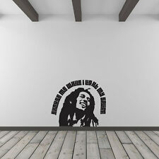 Bob Marley Quote – Excuse Me While I Light My Spliff Vinyl Wall Art Decal for...