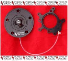 DUCATI BLACK KEYLESS BILLET GAS FUEL CAP 1/4 TURN 899 1199 PANIGALE