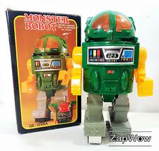 MOSTRO SPAZIALE ROBOT 1985 Bootleg knockoff Taiwan HORIKAWA in scatola elettronico 1980s