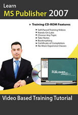 Learn Microsoft Publisher 2007 Video Training Tutorial from Certified Instructor