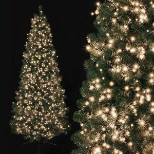 Warm White LED Tree Fairy String Lights 500 750 1000 1500 2000 Xmas Wedding UK