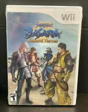 SENGOKU BASARA SAMURAI HEROES New, Sealed With Vent Holes For Nintendo Wii