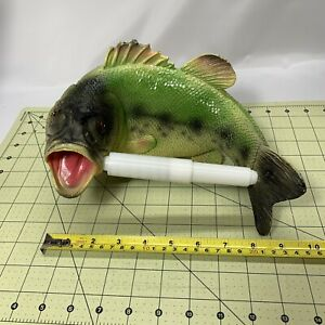 Fish Toilet Paper Holder-Largemouth Bass-Lake Cabin-Man Cave Decor-Gift for Dad