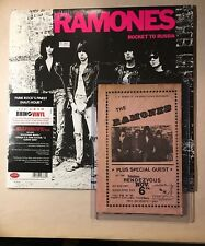 1979 Ramones Concert Advertising Bill Fabulous Rendezvous Garden Grove CA