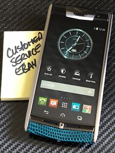 Genuine Brand NEW Vertu Signature Touch Night Forest Lizard Extremely RARE $1NR