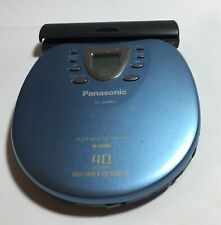 Panasonic SL-SX460 Portable CD Player S-XBS 40 Seconds Anti-Shock - Light Blue