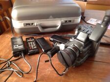 CANON A1 DIGITAL 8MM VIDEO CAMCORDER HI8 + Accessories + Case   Camera powers-up