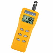 Carbon Dioxide Meter Temperature Humidity CO2 Monitor Portable Air Quality Test