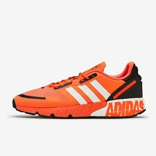Adidas ZX 1K Boost Men's Athletic Shoe Solar Red Running Sneaker Gym Trainers