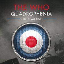 "THE WHO - QUADROPHENIA ""LIVE"" IN LONDON:2CD ALBUM SET (June 9th 2014)"