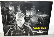 O Winston Link Night Trick Original 1957 Photographs Norfolk Western Railway