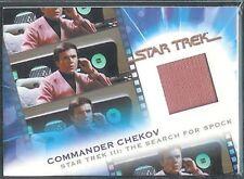 Complete Star Trek Movies Costume Card MC13 Chekov Pink