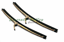 "Austin Classic Mini New Bayonet Lucas 10"" 5.2mm Sainless Steel Wiper Blade Set"