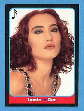LE BELLISSIME -Masters Cards 1993 -n. 196 - JAMIE DEE - MUSICA -New