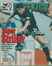 1998 D.C. United vs. New York MetroStars MLS Soccer Program + Game Notes!
