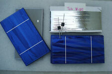 72 3x 6 A- 1.8 Solar cells PANEL kit : Tab wire Diodes