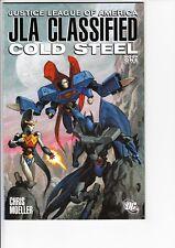 JLA CLASSIFIED COLD STEEL #1 (DC, 2005): Moeller cvr  --  VF/NM