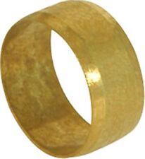 10 mm Latón aceitunas de Oliva (anillos) (Bolsa de 10)