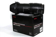 Sigma DC 18-200mm OS f/3.5-6.3 Reisezoom Tele Objektiv für Canon EOS Kameras