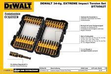 DeWALT Bitsatz DT70562T Extreme Impact Torsion 34tlg Akkuschrauber Schlagschraub
