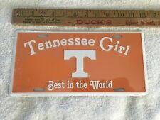 "Tennessee Girl License plate ""Best In The World"""