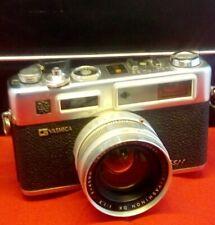 Yashica Electro 35 GSN Rangefinder Film Camera w/ Original Black Gadget Case