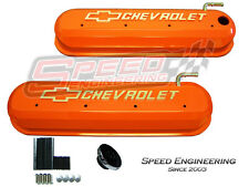 LS Chevrolet Valve Covers Corvette, Camaro, Truck (LS1, LS2, LS3, LS6) Orange
