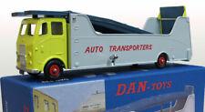 DAN TOYS CAR CARRIER AUTO TRANSPORTERS  Jaune et Gris Ref DAN 229