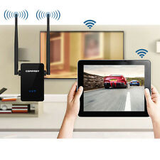 300Mbps Wireless N Repeater Network Router AP WiFi Signal Range Extender US Plug