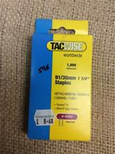 CLEARANCE LOT B67 91/30MM Tacwise Tacker Staples (91) 30mm 191EL, Ranger 40 DUO