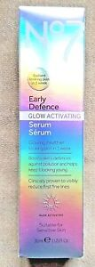 No7 Early Defence Glow Activating Serum (suitable For Sensitive Skin) 30ml